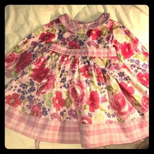 Baby Lulu Dress 12 months Soft & sweet Easter?